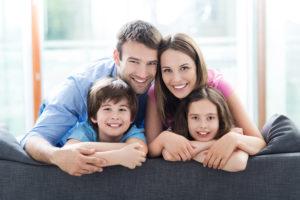 famille parents avec enfants