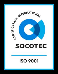 Logo SOCOTEC ISO 9001