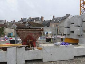 Visite de chantier Bellegarde