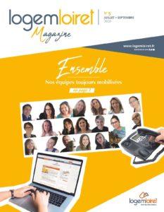Couverture LogemLoiret Magazine n°5
