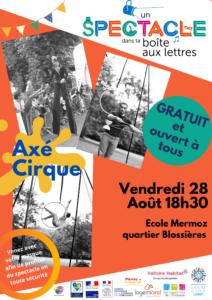 Affiche Un spectacle dans ta boîte aux lettres 28/08/2020