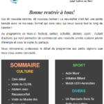 La Fabrique Culturelle et Citoyenne - Newsletter 09-2020