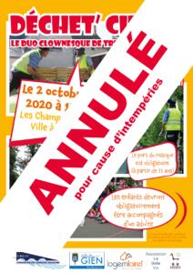 Affiche A4 Fabrika Pulsion Champs de la Ville - ANNULATION
