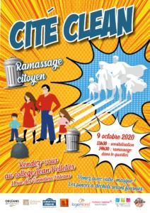 Affiche Cité Clean octobre 2020