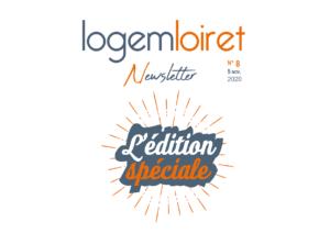 Newsletter Edition spéciale 8 Logo