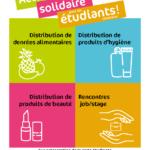 Affiche Solidarité étudiants 2021