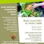 Affiche atelier compostage 4 vents