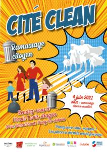 Affiche Cité Clean Lignerolles