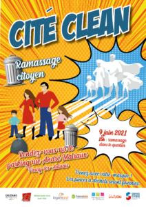 Affiche Cité Clean Ormes du Mail